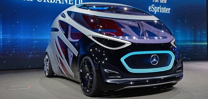 Der neueste Concept Car von Mercedes( Fotolizenz-Shutterstock: meowKa_)