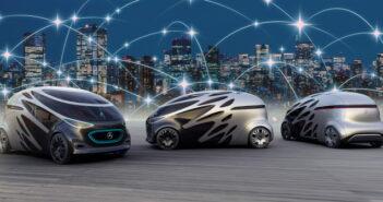 Mercedes: Autonome Fahrzeuge für den Verkehr der Zukunft