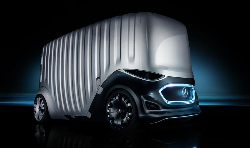 Der Vision Urbanetic mit dem Cargo-Modul