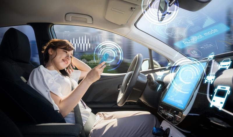 Mercedes: autonome Fahrzeuge gewinnen an Bedeutung.