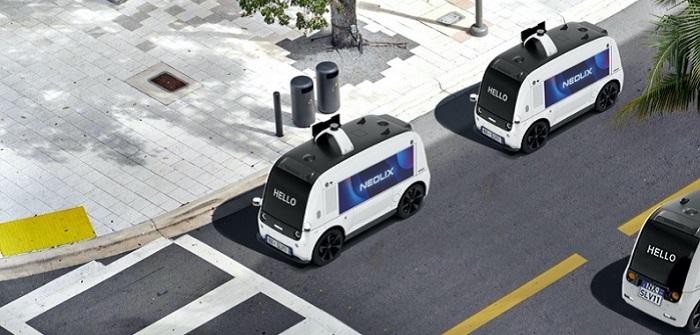 Neolix: Fahrzeuglizenz für autonomes Lieferfahrzeug im Einsatz auf öffentlichen Straßen